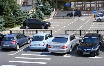 автомобили припаркованы неверно
