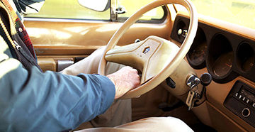 пенсионер за рулем