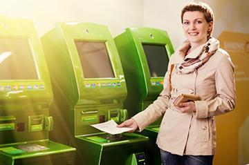 штрихкод-сканнер на банкомате