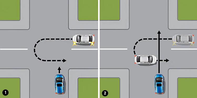 Разрешён ли разворот на перекрёстке со светофором