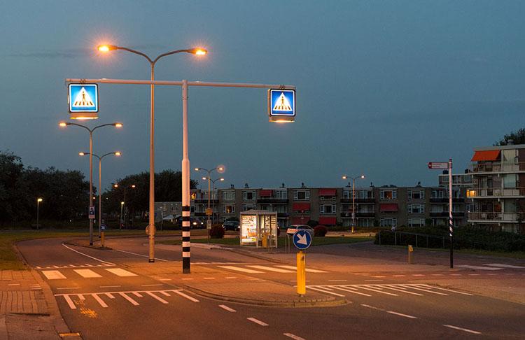 пешеходный переход без светофора