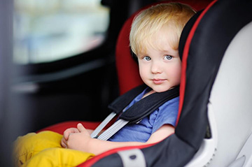правила перевозки детей на ТС