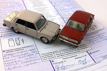 авария и подписи сторон