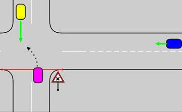 как повернуть налево