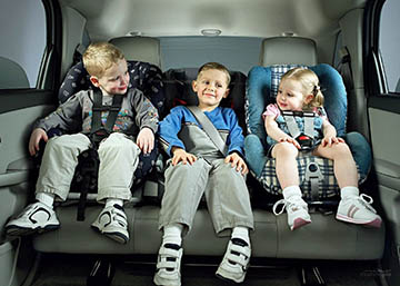 транспортировка ребенка